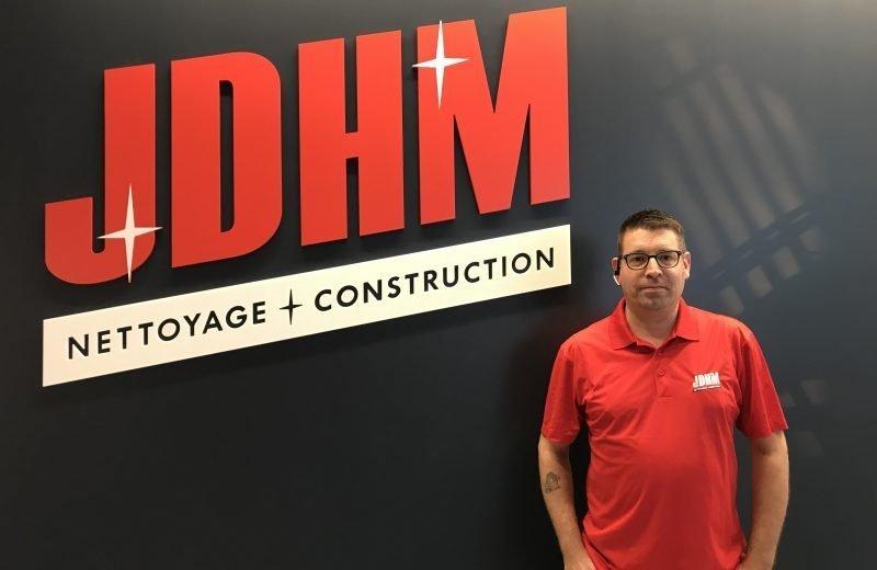 Michel Tremblay, coordonnateur des sinistre chez JDHM